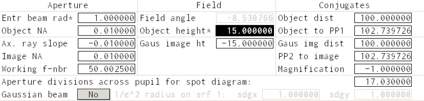 height dialog