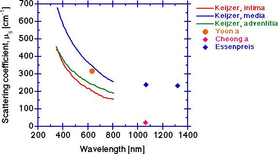 Optical Properties of Aorta